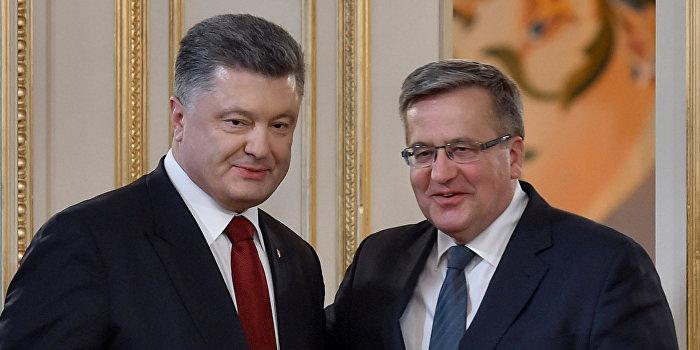 Поляки считают Порошенко недостойным ордена Белого орла