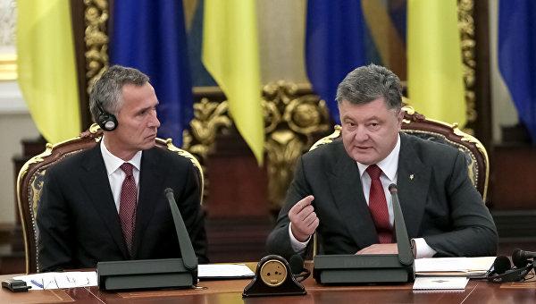 Порошенко проведет референдум по вступлению Украины в НАТО