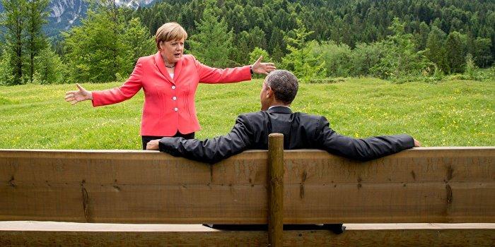 Немецкий депутат: Меркель действует по указке США
