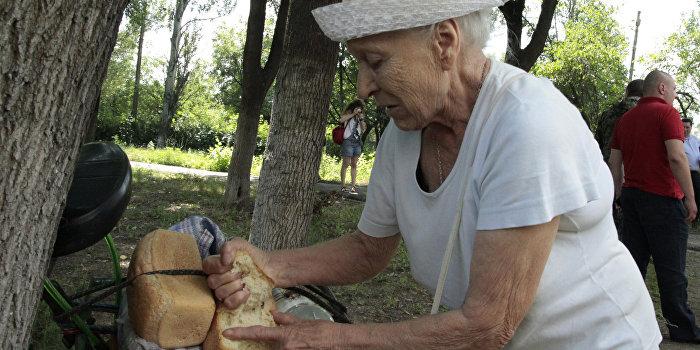 Украина: Жизнь на дне потребительской корзины