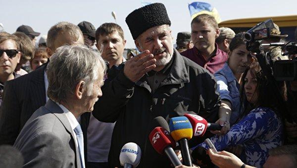 Кто организовал блокаду Крыма?