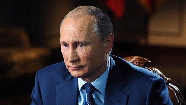Интервью Владимира Путина телеканалам CBS и PBS