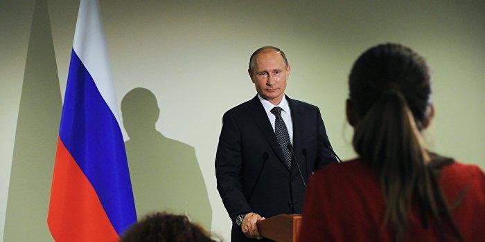 Путин не заметил отсутствия Порошенко