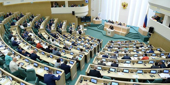 Совет Федерации разрешил использование Вооруженных сил РФ за рубежом