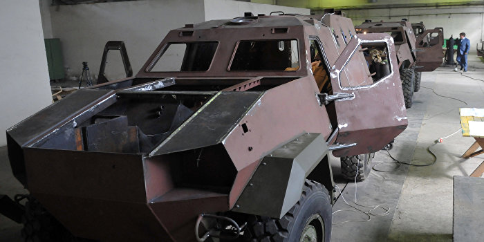 Бойцы ВСУ на испытаниях утопили новую украинскую бронемашину