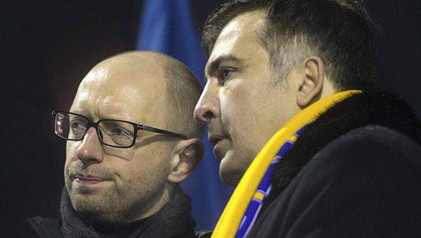 Саакашвили сравнил Украину с Африкой и назвал своей родиной