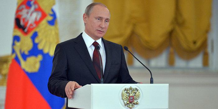 Путин: Поддержка соотечественников помогла при воссоединении Крыма с РФ
