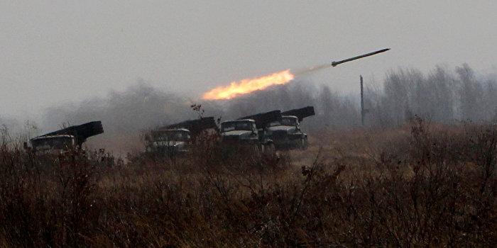 ДНР: Украинские военные обстреляли из «Градов» окраину Донецка