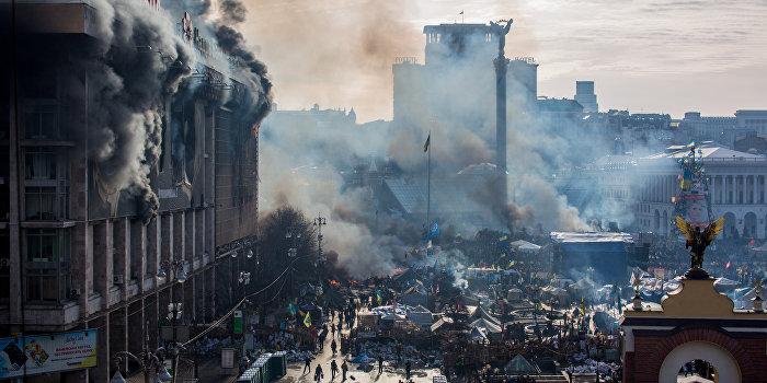 В сожженном Доме профсоюзов обустроили караоке