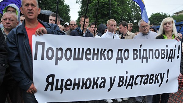 Яценюк «победил» неизвестных олигархов
