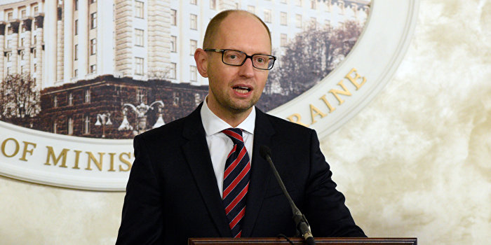 Яценюк: Если Россия не пойдет на реструктуризацию, мы не отдадим долг вообще