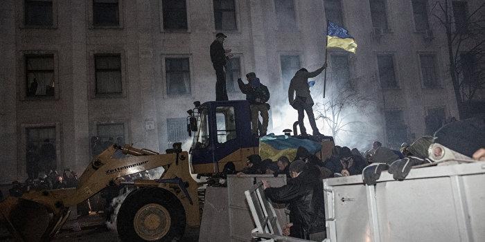 Шокин отправляет на нары инициатора штурма Администрации Януковича