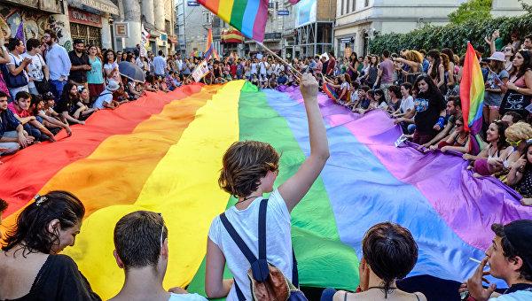 Украина перешла на сторону геев