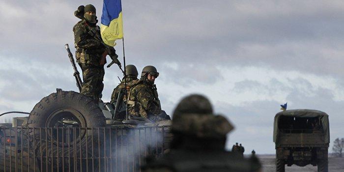 ВСУ готовятся к прорыву обороны Донбасса