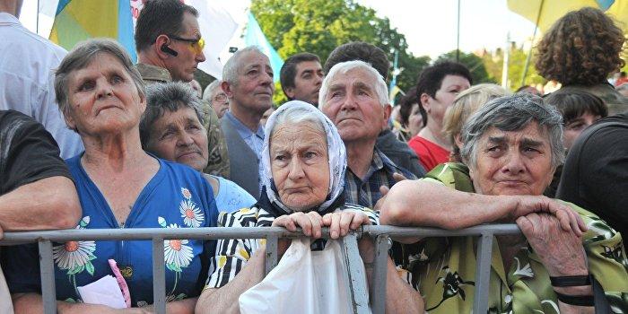 Украинскую армию будут содержать за счет пенсионеров