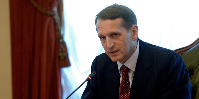 Нарышкин считает продление антироссийских санкций дикостью и глупостью