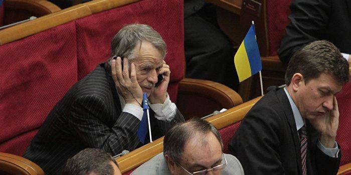 Джемилев хочет обречь украинцев на голод и холод