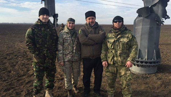 Украина погрузила во тьму весь Крым