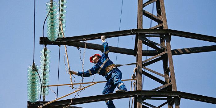 Украина не хочет ускорять восстановление электроснабжения Крыма с помощью РФ