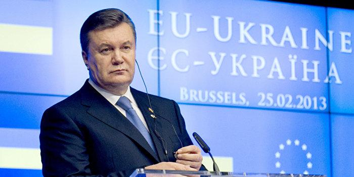 ЕС снимет санкции против Януковича