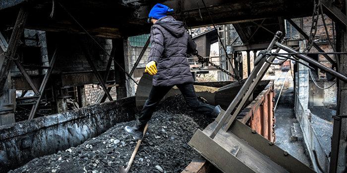 ДНР прекратила поставки угля Украине