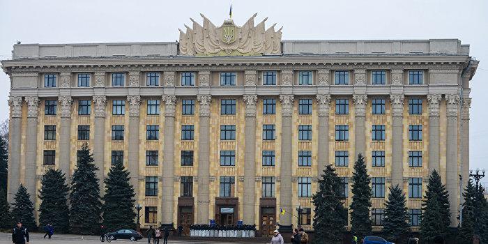 Поступило сообщение о минировании Харьковской обладминистрации