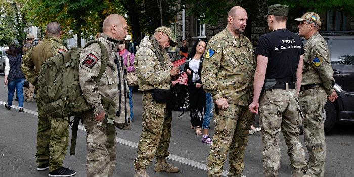 Боевики «АТО» пошли на штурм киевской полиции