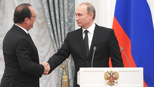 Франция сообщила, когда снимает санкции с России