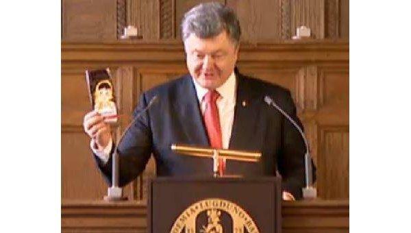 Порошенко назвал европейцев «евротрусами» и посоветовал есть шоколад