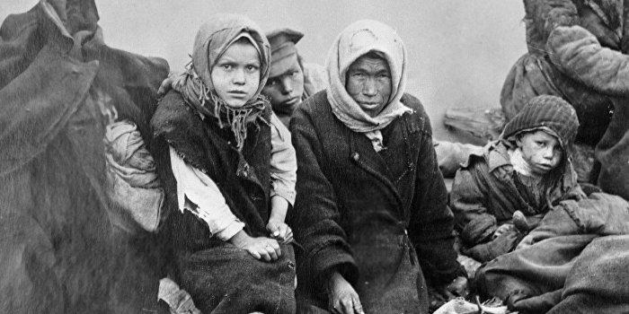 Киев маскирует данные о голоде в российском Поволжье под голодомор на Украине
