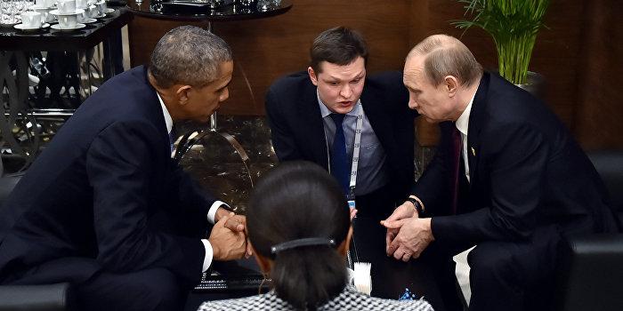 Песков передал содержание разговора Путина и Обамы на саммите в Париже