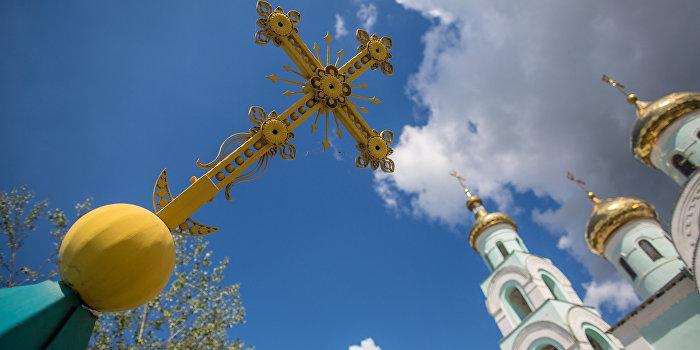 На Полесье подожгли и ограбили храм Московского патриархата
