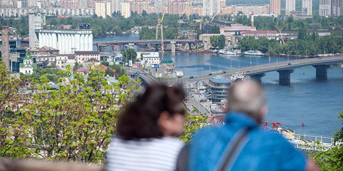 Свалки и крысы в центре Киева отпугивают иностранных туристов