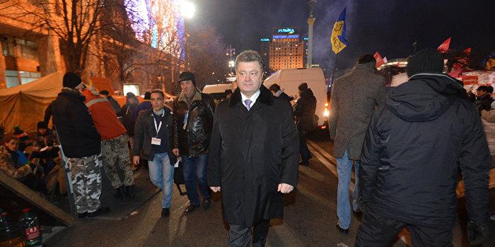 Порошенко заявил, что выполнил все требования майдана