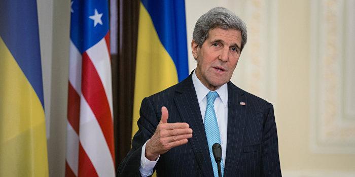 Керри потребовал от Украины выполнения Минских соглашений