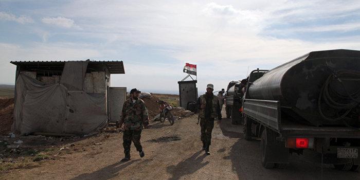 Турецкая армия вторглась в Сирию