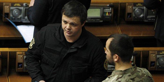 Семенченко и «Самопомощь» устроили дебош в Кривом Роге