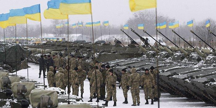 Украина перебросила на подступы к Луганску танки, САУ и РСЗО