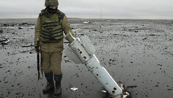 Донецк подвергся массированному обстрелу