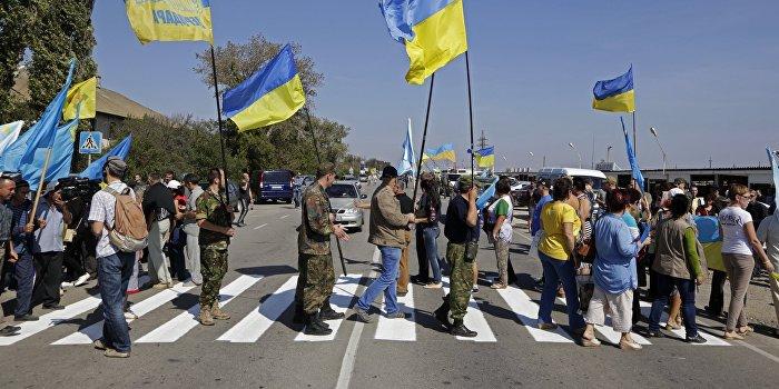 Украина собралась «возвращать» Донбасс по крымской схеме - блокадой