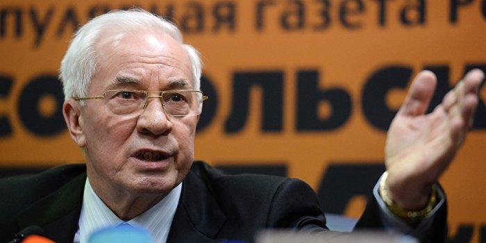 Азаров: Вы еще не устали от брехни Порошенко?