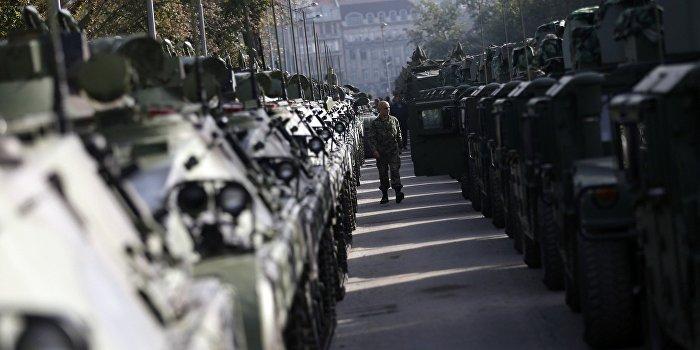 В Одессу перебросили с фронта «Ураганы», «Грады» и танки