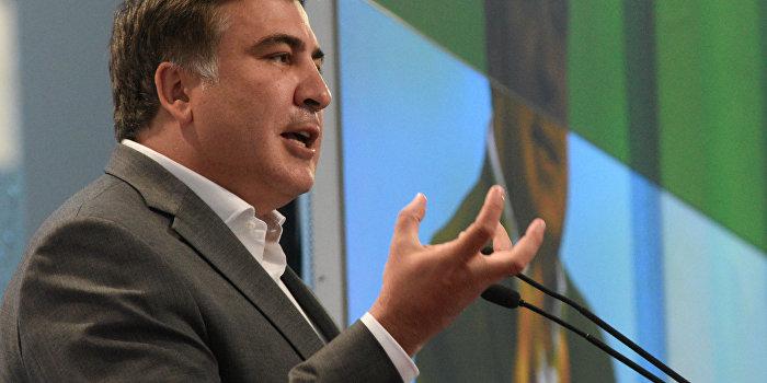 Саакашвили: Госаппарат на Украине развалится, потому что нечего красть