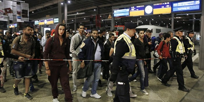Германия подумывает об отказе от приема беженцев