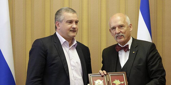 Евродепутат от Польши Януш Корвин-Микке прибыл с визитом в Крым