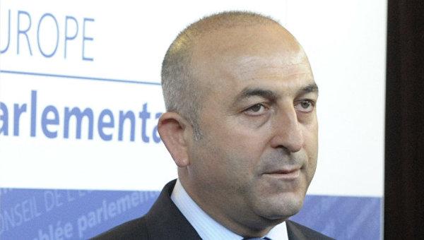 Глава МИД Турции ловил Матвиенко в кулуарах