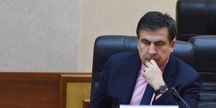 Саакашвили не узнает сам себя на компрометирующем видео
