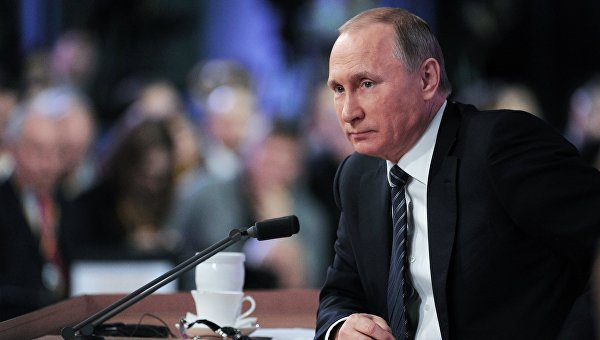 Путин: Саакашвили - плевок в лицо украинского народа