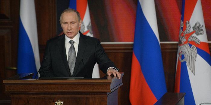 Немецкий журнал Cicero назвал Владимира Путина человеком года