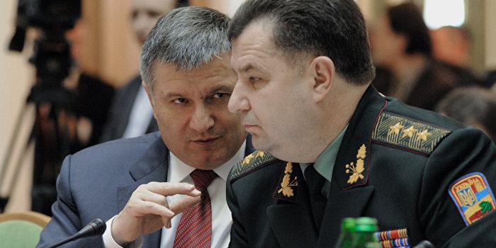 Аваков собирает компромат на руководство Минобороны Украины